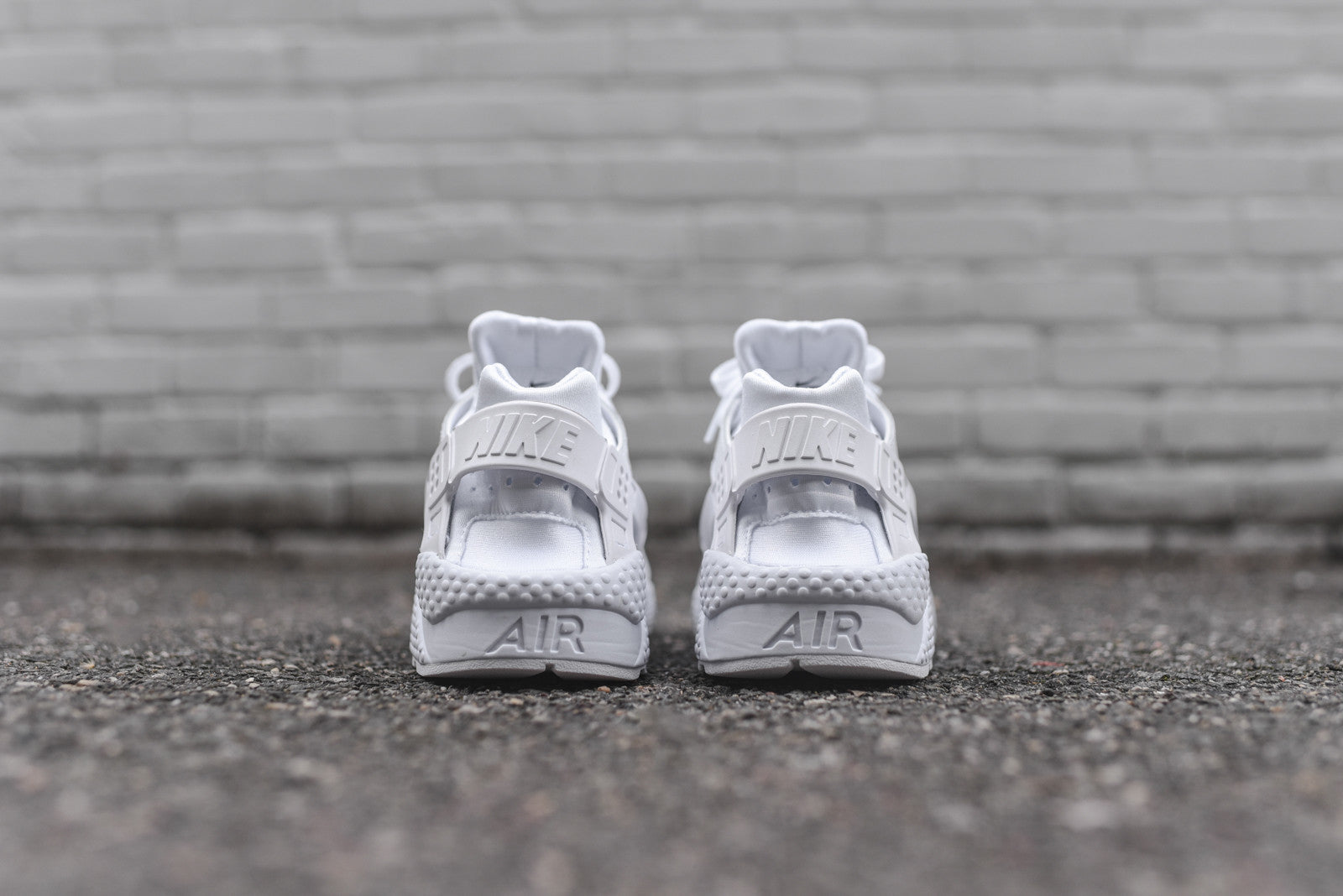 Nike Air Huarache Run PRM - Triple White