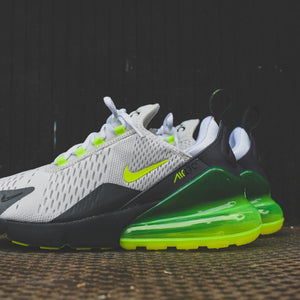huge selection of f42e5 52473 Nike Air Max 270 - Platinum Tint / Volt / Dark Grey / Anthracite - 7