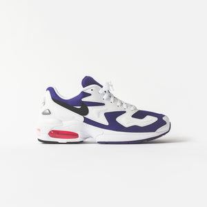 Nike Air Max Light 2 - White / Black / Court Purple / Hyper Pink