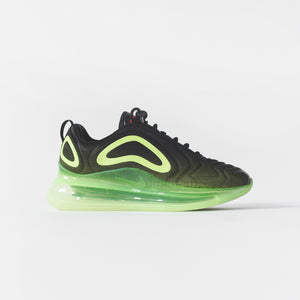 29833af3e6a29b Nike Air Max 720 - Black   Bright Crimson   Volt