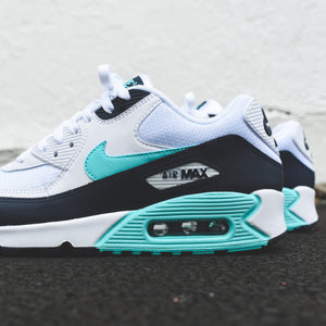 new concept 62712 08343 Nike Air Max 90 Essential - White   Aurora Green