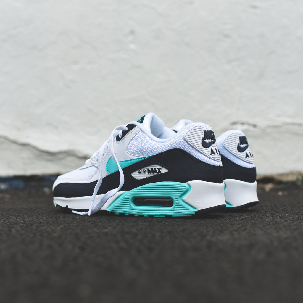 buy online 01e93 26070 Nike Air Max 90 Essential - White   Aurora Green – Kith