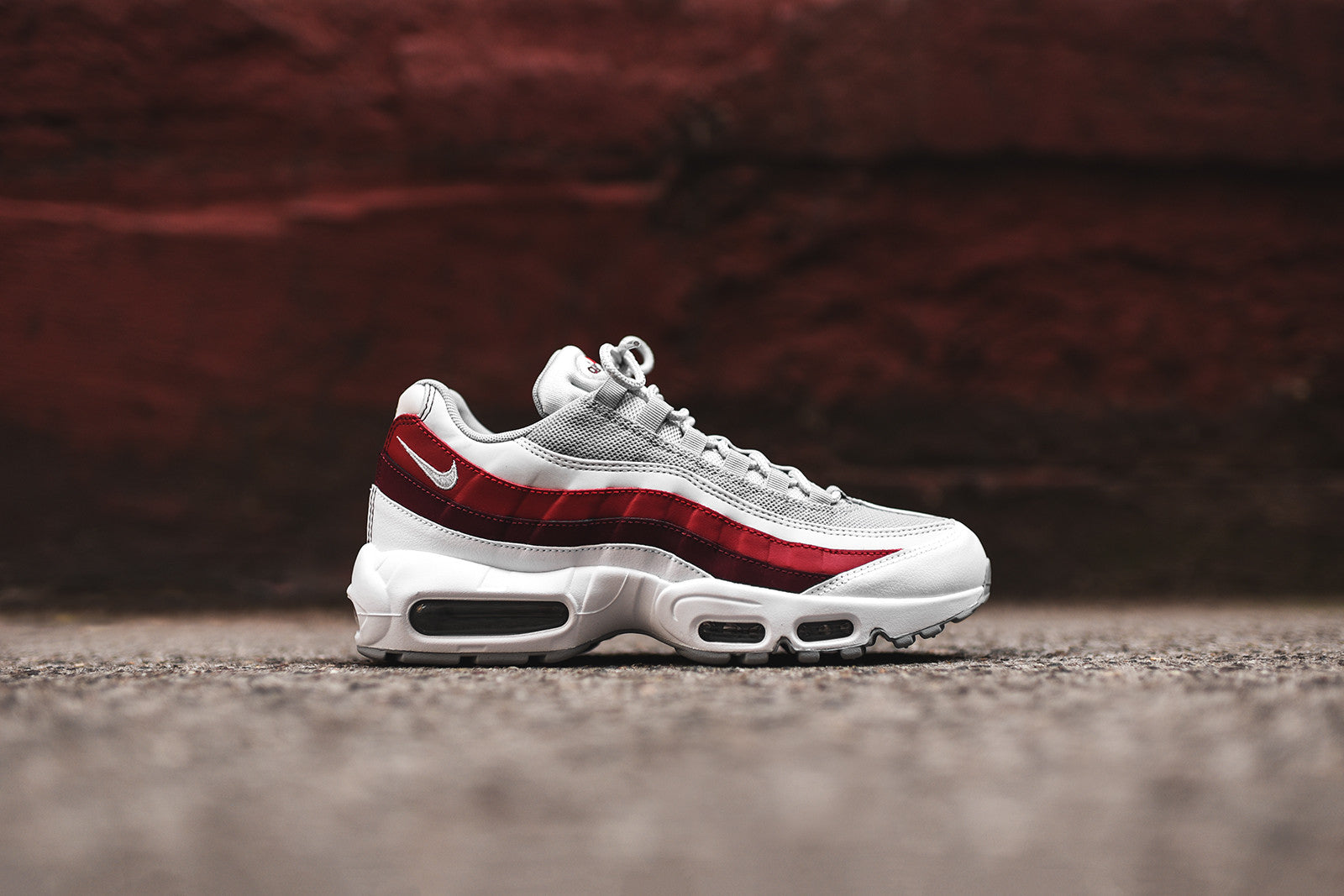 7485187f11 Nike Air Max 95 Essential - White / Red – Kith