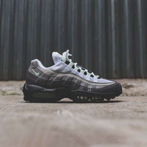 2ef09d44816bf Nike Air Max 95 - White   Fresh Mint   Granite   Dust   Dark Pewter