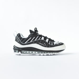 reputable site 725df 1e14e Nike Air Max 98 - Black / White / Reflect Silver – Kith