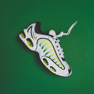 Nike GS Air Max Tailwind IV - White / Volt / Black / Aloe Verde