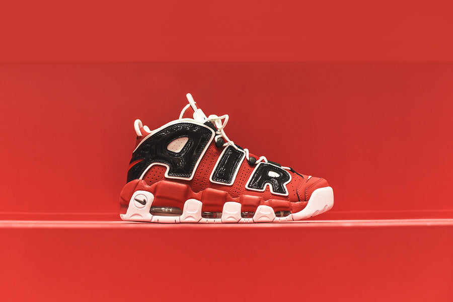 Nike Air More Uptempo '96 - Red / Black