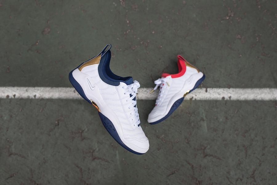 Nike Air Oscillate - White / Red / Navy