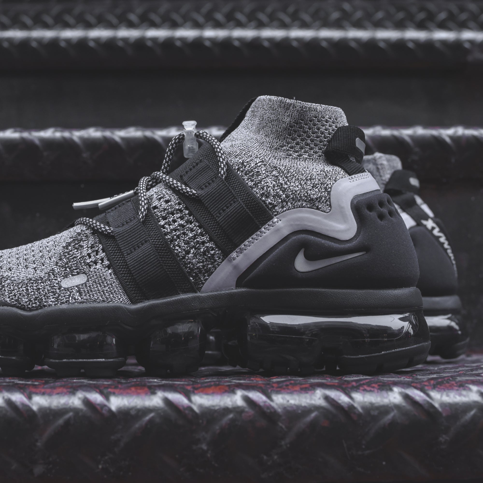 Nike Air VaporMax FK Utility - Grey / White