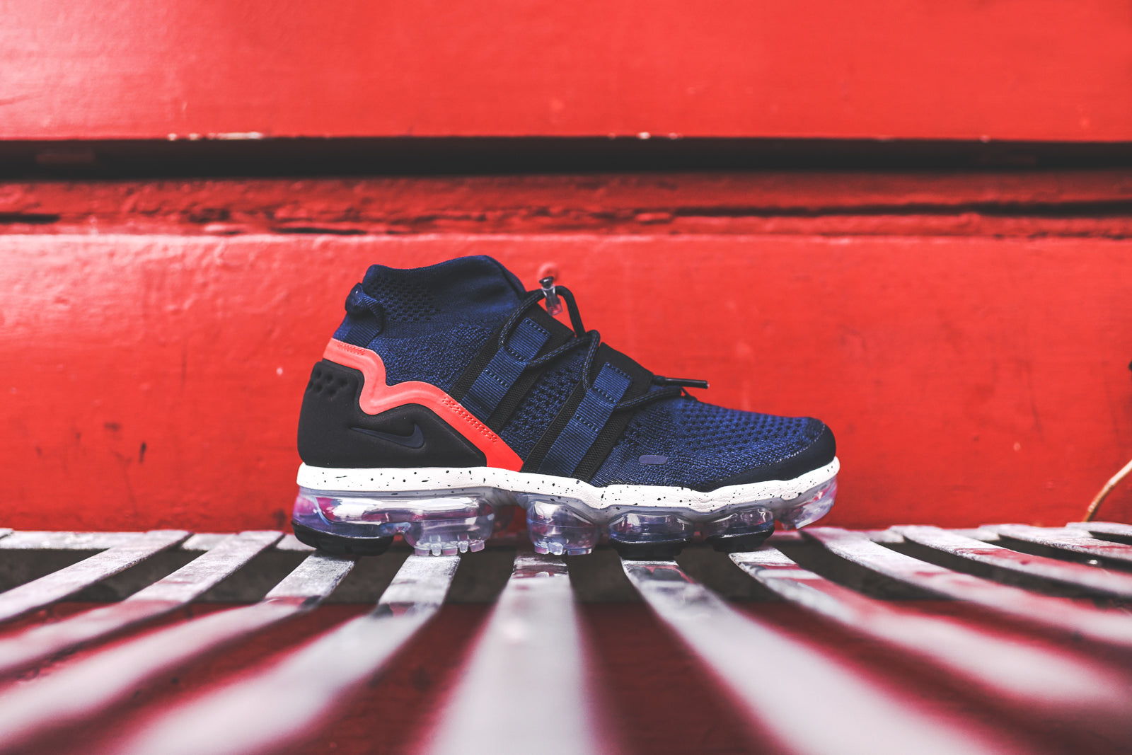 Nike Air VaporMax FK Utility - Navy / Black