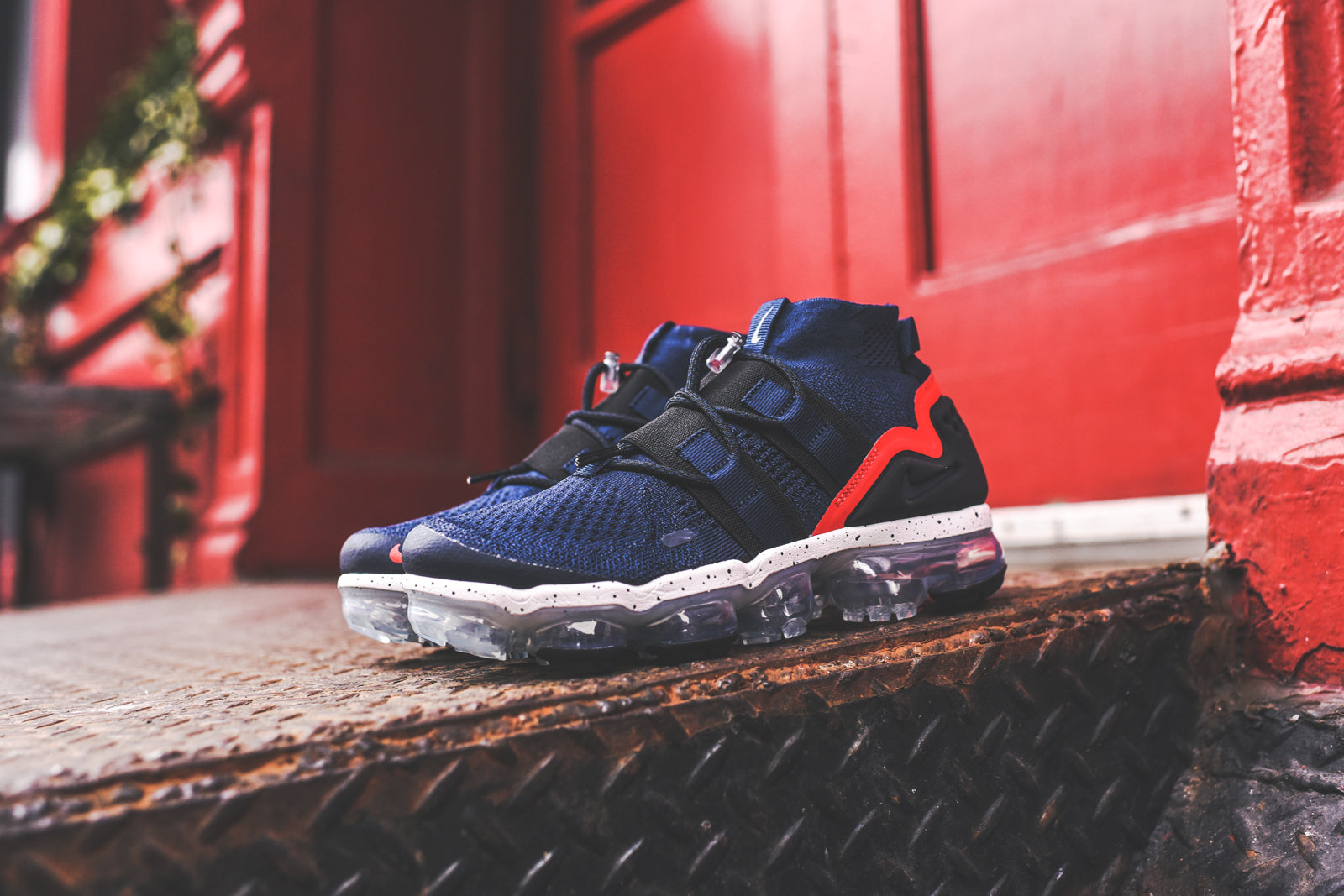 Nike Air VaporMax FK Utility - Navy  Black