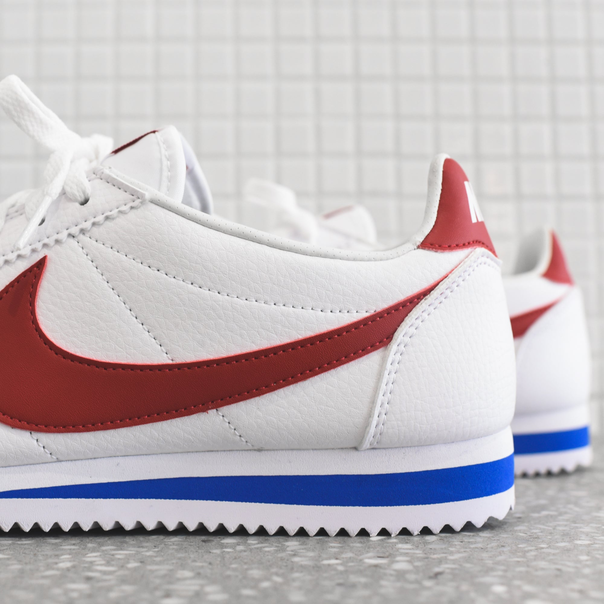 low priced dc42c 954f7 ... authentic nike classic cortez white varsity red varsity royal da2e5  35f07