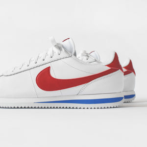 sports shoes a657e 37992 Nike Cortez Basic Leather OG - Blue / White / Red - 7