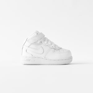 Nike Toddler Air Force 1 Mid - White