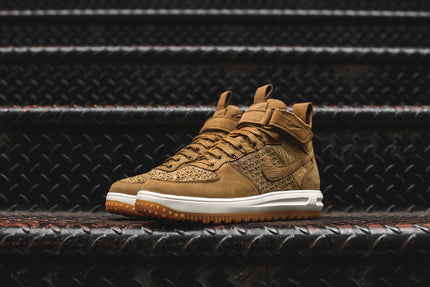 Nike Lunar Force 1 Flyknit Workboot - Beige / Sail