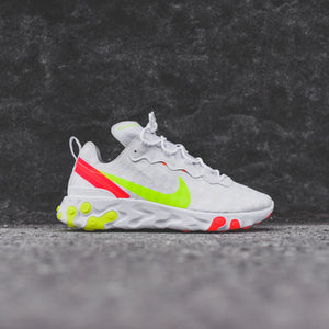 Nike React Element 55 - White / Red / Volt