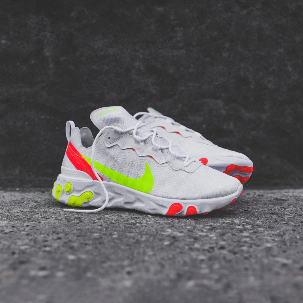 outlet hot sale finest selection Nike React Element 55 - White / Red / Volt
