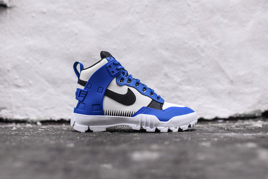 NikeLab x Undercover SFB Jungle Dunk - White / Blue / Black