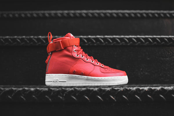 Nike SF-AF1 Mid - Team Orange / White