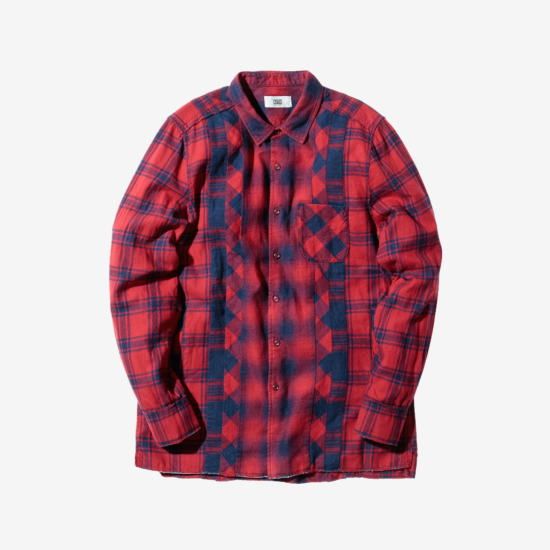 Kith x Ones Stroke Ginza Shirt 2.0 - Red