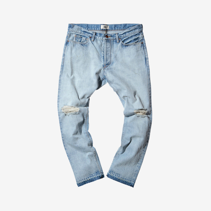 Kith x Ones Stroke Distressed Denim - Blue