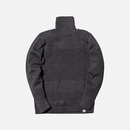 Norse Projects Skagen Crewneck - Charcoal