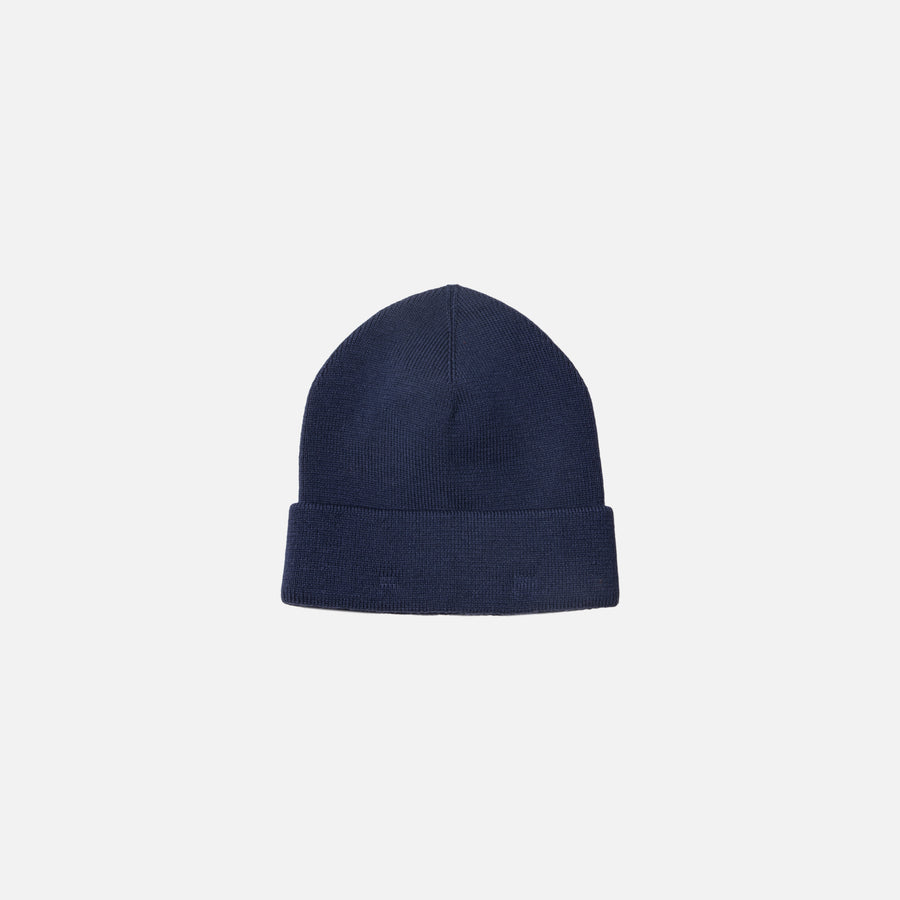 Norse Projects Merino Beanie - Navy