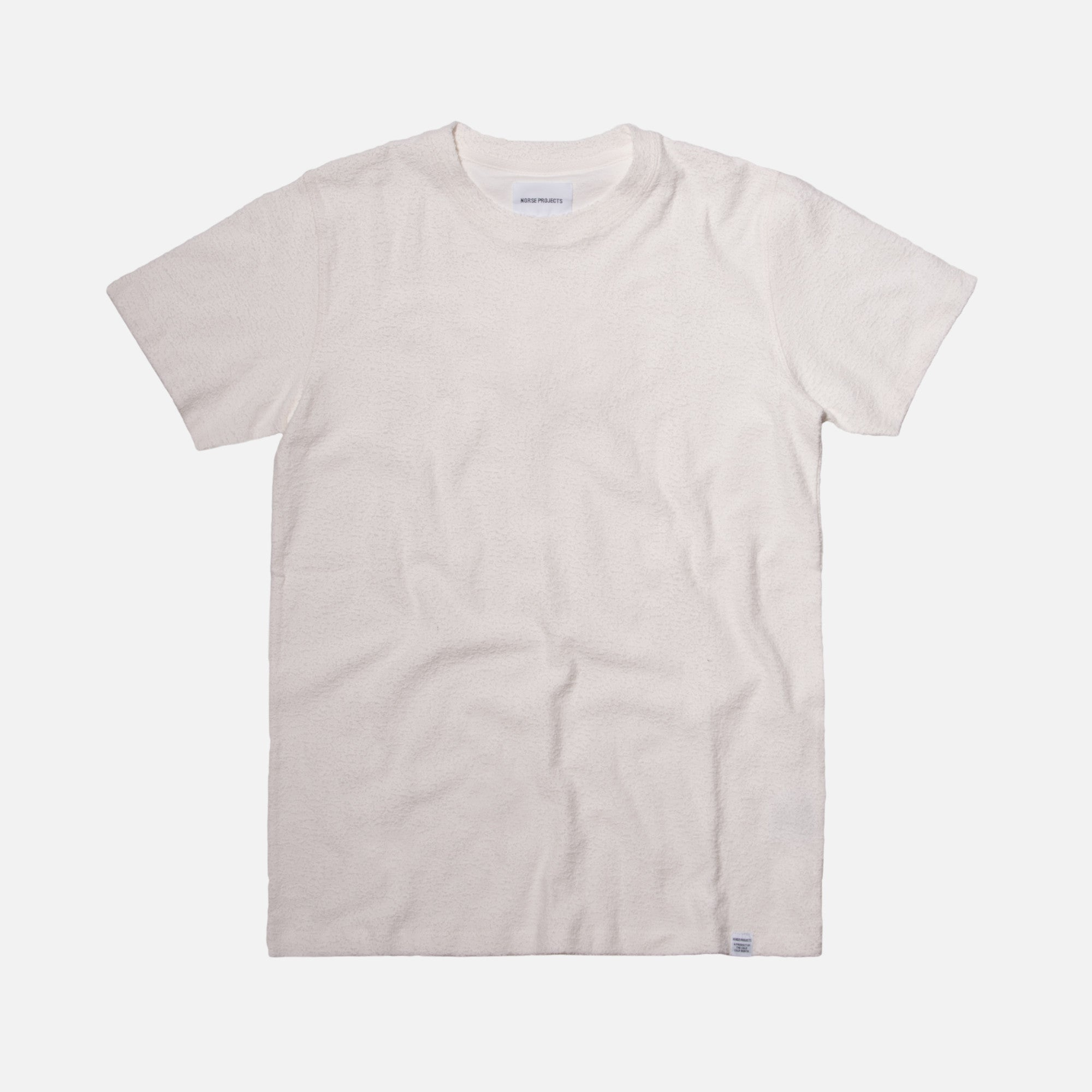 Norse Projects Niels Towelling Tee - Lucid White