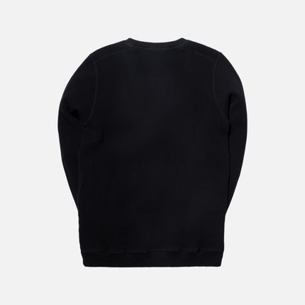 Norse Projects Vagn Compact Waffle Sweater - Black