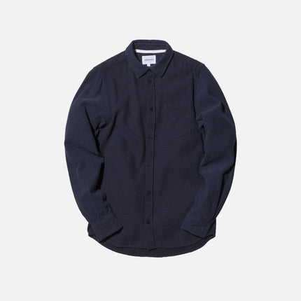 Norse Projects Anton Button-Up - Dark Navy