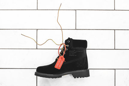 Timberland X Off White Wmns 6 Inch Boot Black