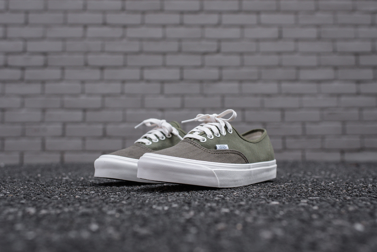 8efbb8b884 Vans Vault Authentic - Olive – Kith