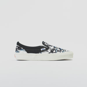 1be50194fea Vans x Ralph Steadman OG Classic Slip-On LX - Blue Tuna