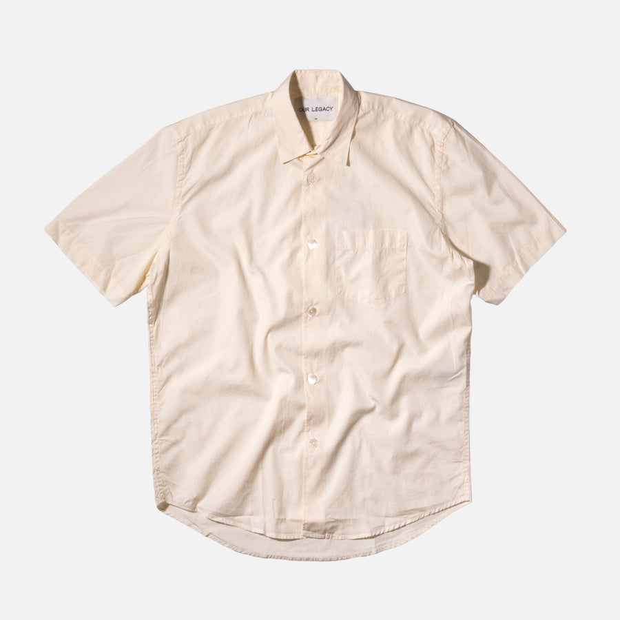 Our Legacy Initial Shirt - Cream Poplin