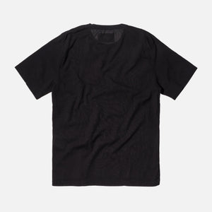 Our Legacy Weaved Tee - Washed Black / Voile
