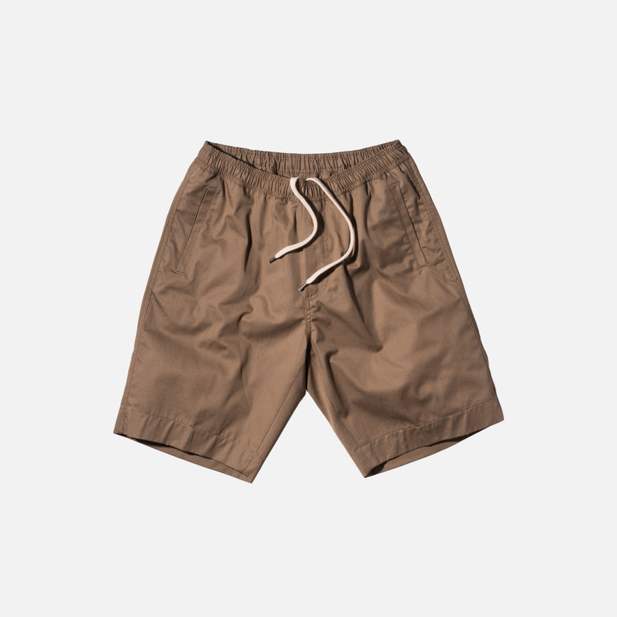 Our Legacy Relaxed Shorts - Tan / Fine Gabardine