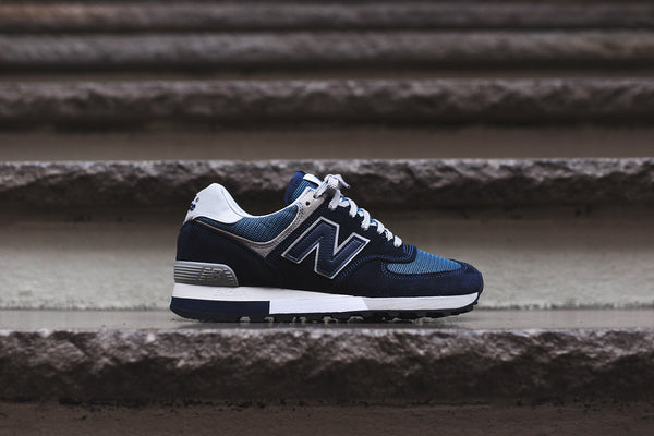 New Balance OM576OGN - Navy / White