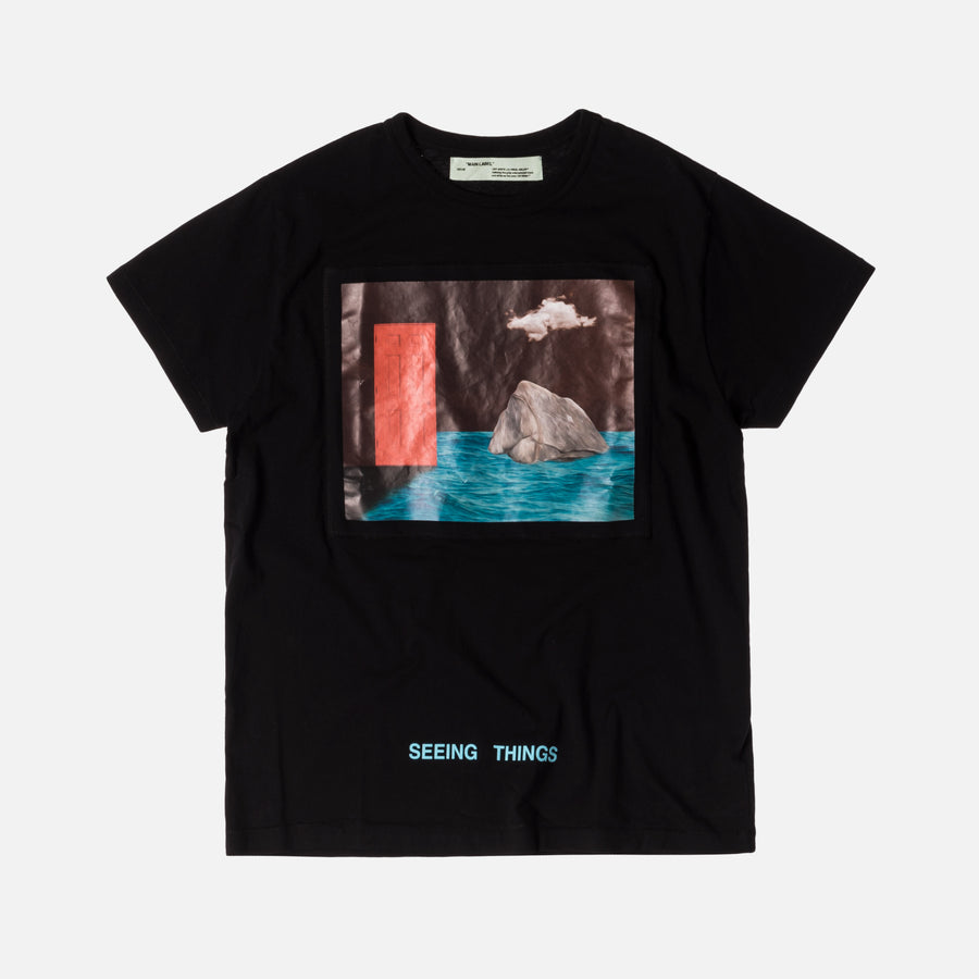 Off-White Door Tee - Black