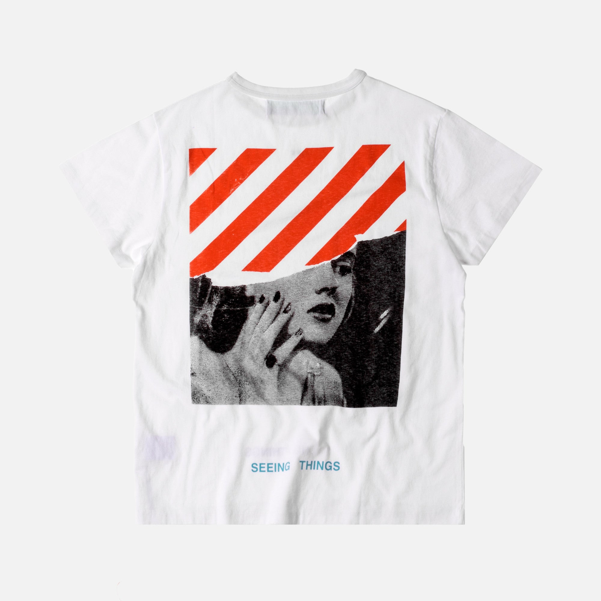 Off-White Photocopy Tee - White / Orange
