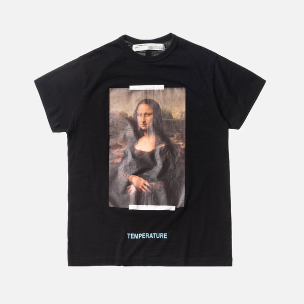 Off-White Mona Lisa Tee - Black / White
