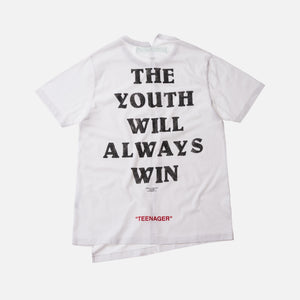 off white youth tee
