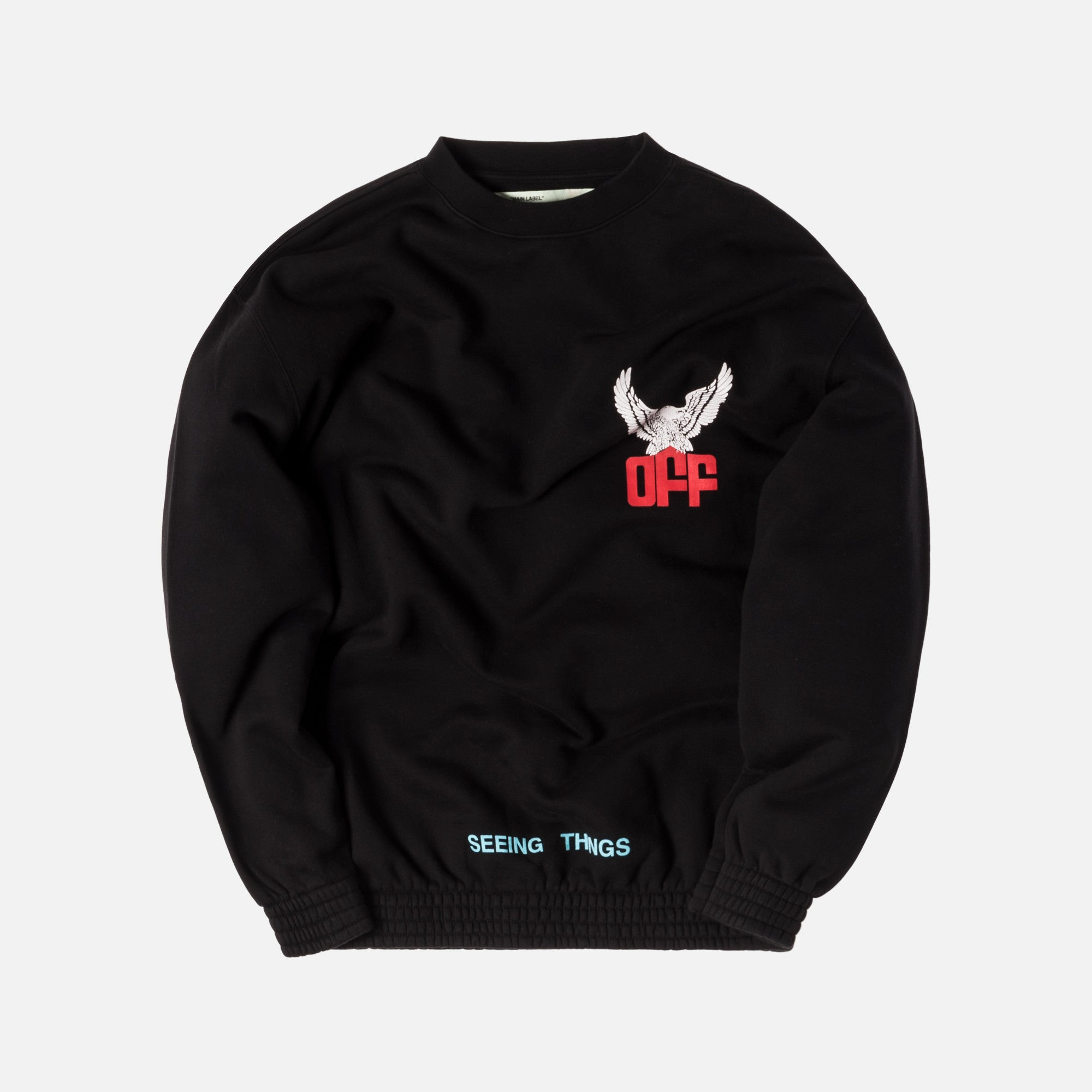 Off-White Off Eagle Over Crewneck - Black