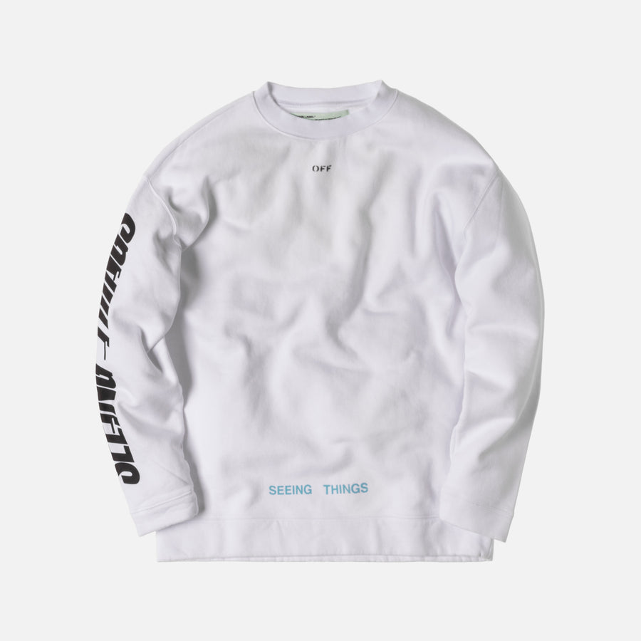 Off-White Photocopy Crewneck - White / Orange
