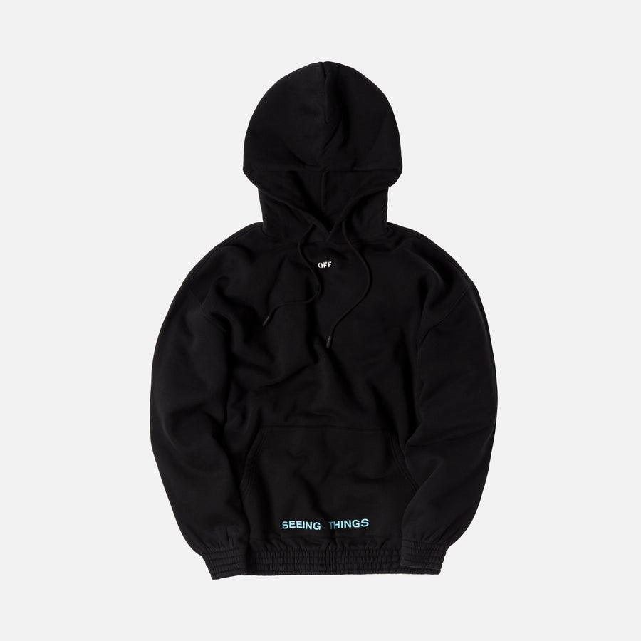 Off-White 1991 Over Hoodie - Black