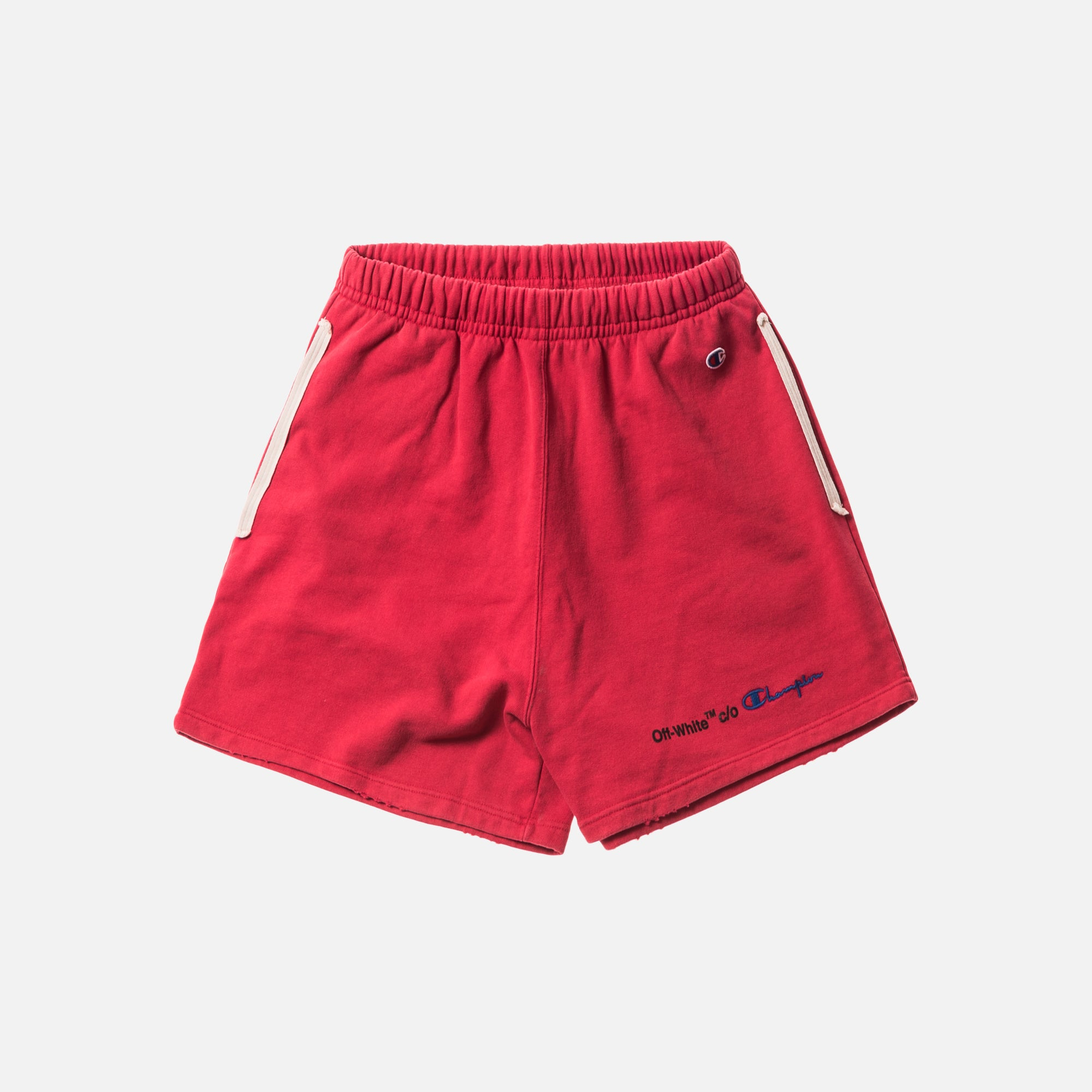 Off-White x Champion Shorts - Red / Black