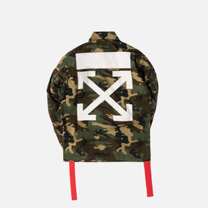 5a493719a460 Off-White Archive Field Jacket Camo All Over - White – Kith