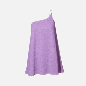 Oseree Lumiere One Shoulder Dress - Lilac