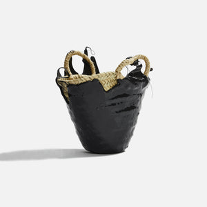 Ottolinger Woven Mini Basket - Black Drop