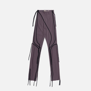 Ottolinger Ski Leggings With Straps - Taupe / Black