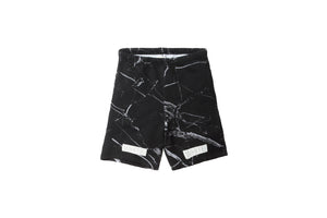 Off-White Marble Short – Black